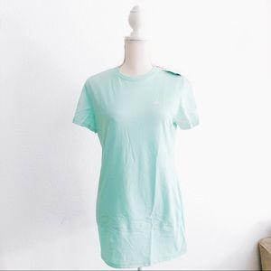 NWT Adidas the Go To Easy Green Short Sleeve Shirt